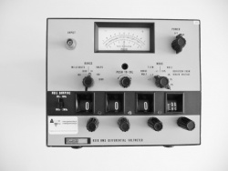 RMS Differential Voltmeter